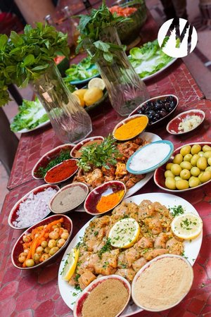 Riad Chorfa : From the food course