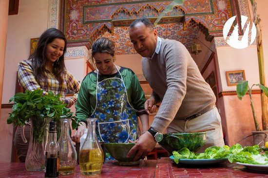 Riad Chorfa: From the food course