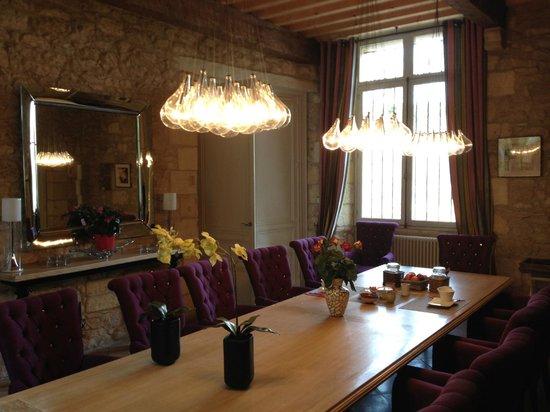 Chateau de Courtebotte: La salle à manger