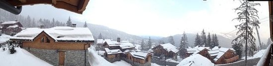 Alpine Escape : Panoramic from the balcony on Pleroma