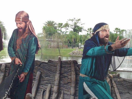 Holy Land Experience: fishermen