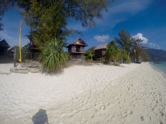 Castaway Resort Koh Lipe : Garden breeze bungalows