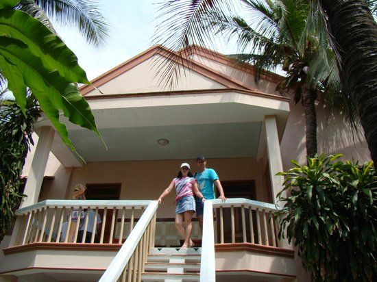 Palmira Beach Resort & Spa: Наш номер на втором этаже...