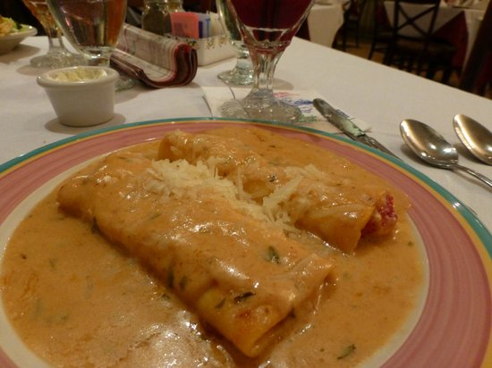 Columbia Restaurant: Seafood cannelloni