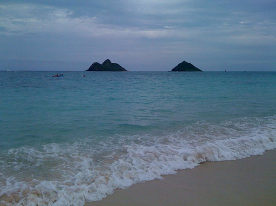 Lanikai Beach is number 1 for a beautiful scene.