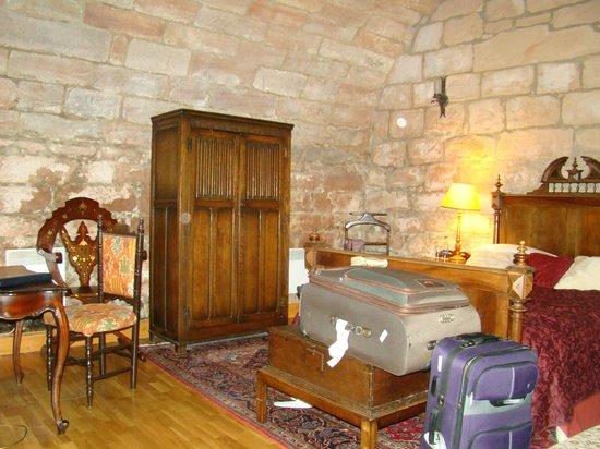 Dalhousie Castle: Спальня