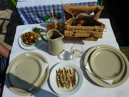 Ze Morgadinho: Bread in wicker handbag