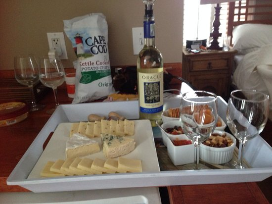 Carpe Diem Guesthouse & Spa: Cheese Time