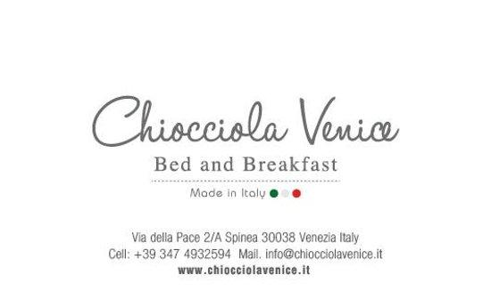 Chiocciola Venice B&B: Bigliettino da visita