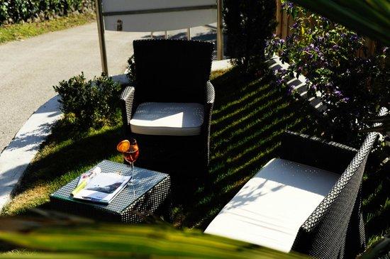 Hotel Hofler Fernblick: Garten