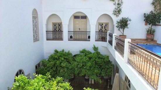 Riad Clementine: Etage piscine