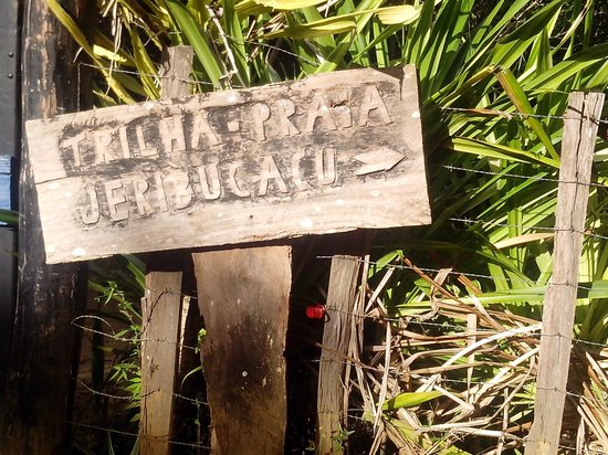 Pousada Maresia: trilha em Itacare