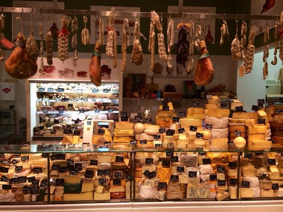 Eataly: One if the many shops inside!