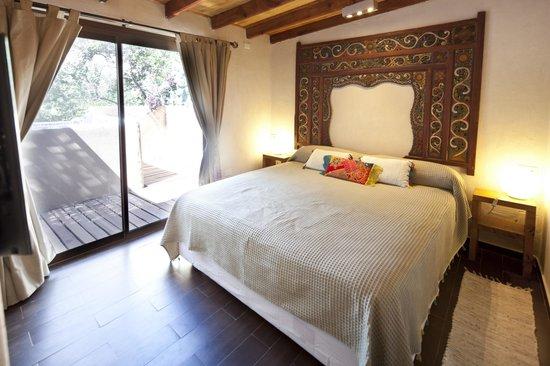 Pisco Elqui, Chile: Sita King bed