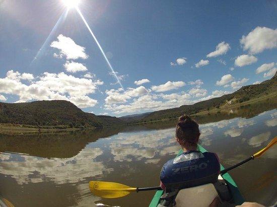 Madi-Madi Karoo Safari Lodge: Canoe