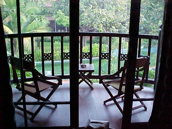 Angkor Village Resort: le balcon