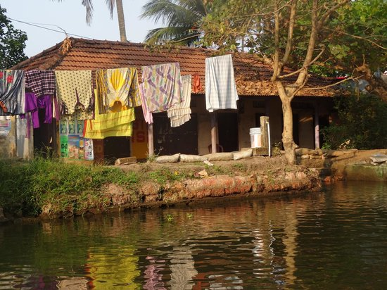 Thevercad Homestay : On the backwaters