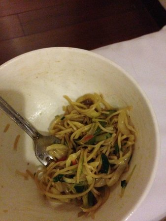 Radisson Blu Plaza Delhi Airport : Hair in the Noodles...YEECH!