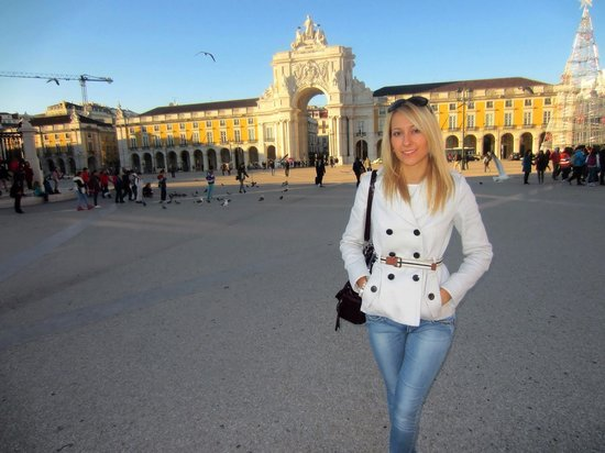 Praça do Comércio (Terreiro do Paço) : Lisboa