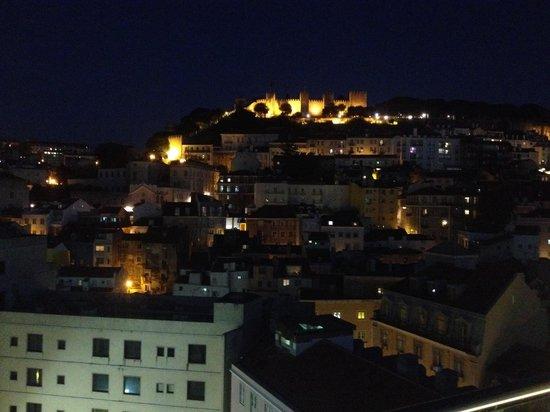 Hotel Mundial: Terraza de nocheq