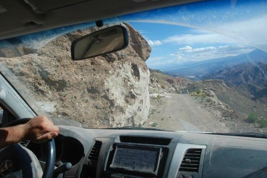 Hosteria Incahuasi: Camino a Las Papas