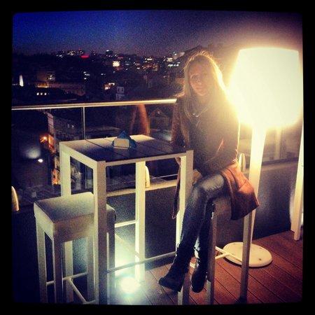 Terraza hotel mundial
