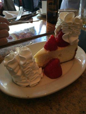 The Cheesecake Factory: Cheescake tradicional