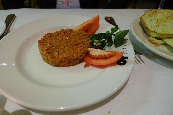 Brasserie JO: A feeble attempt at a Steak Tartare