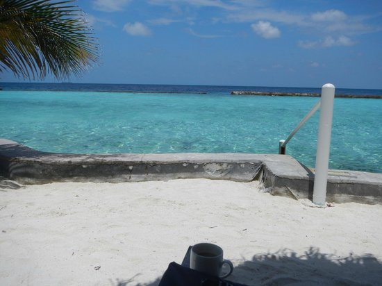 Ellaidhoo Maldives by Cinnamon : View from my sunbed...