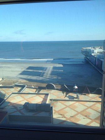Caesars Atlantic City: View from room