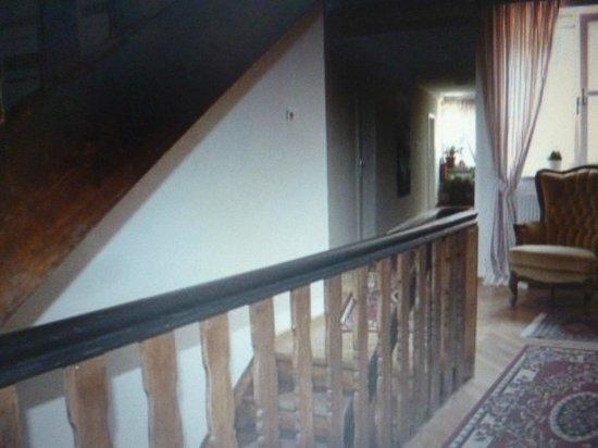 Hotel Landgasthof Fischer : scale per salire (un pò scomode)