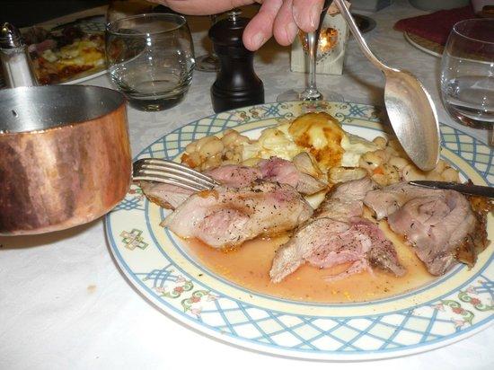 Beau Site-Jehan de Valon : agneau du quercy