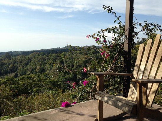 The Guest Suites at Manana Madera Coffee Estate : Gazebo View