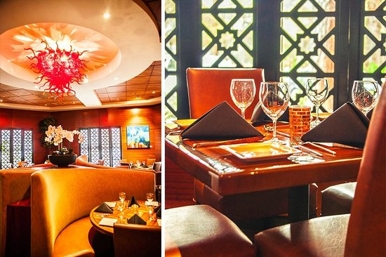 Taste Restaurant & Lounge : Custom features in our Dining Room