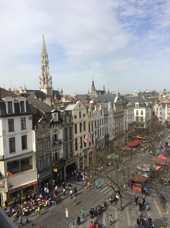 Novotel Brussels Grand Place : View from room 509