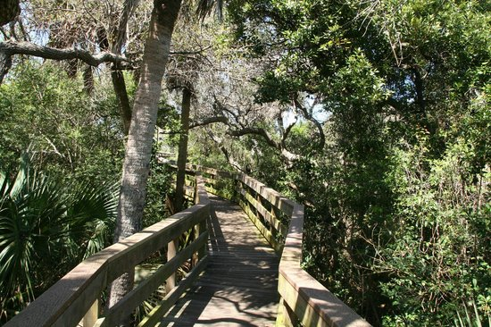 Turtle Mound National Historic Site: Boardwalk to Turtle Mound Overlook