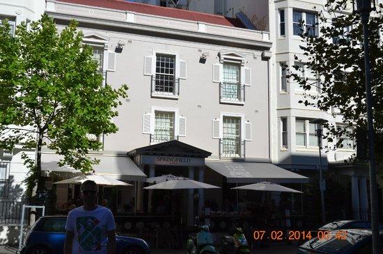 Springfield Lodge: Front hotelu