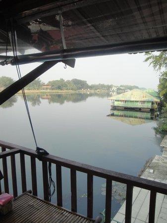 VN Guesthouse: view from restaurant