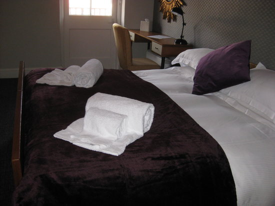 The Talbot: Twin room or king size en suite with balcony