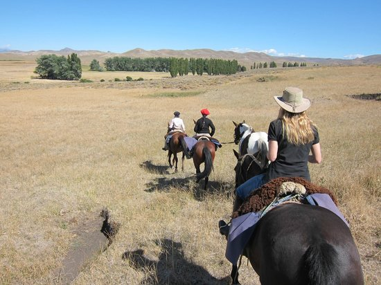 The Lodge at Estancia Huechahue: Riding with Jane