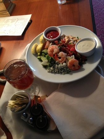 Little America Hotel: Cobb salad via room service
