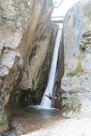Parco delle Cascate: altalena