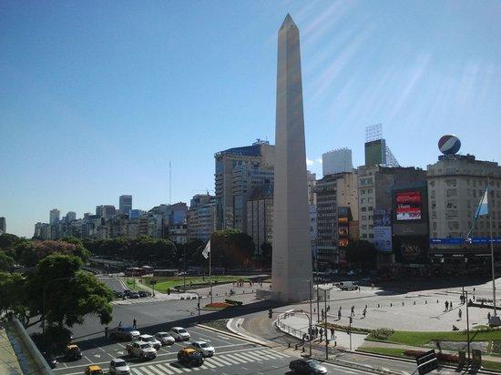 Park Silver Obelisco: las vistas