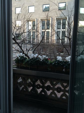 Grand Hotel et de Milan: Balcony
