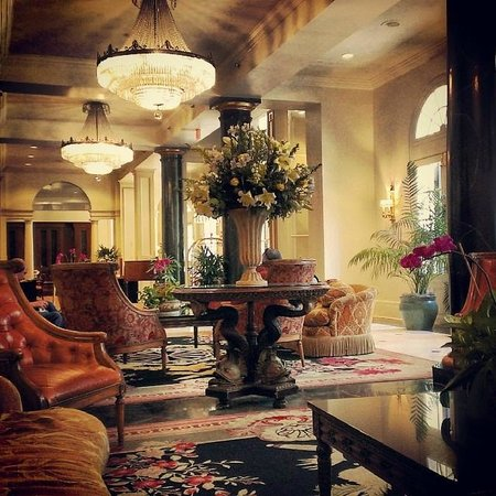 Bourbon Orleans Hotel : Bourbon Orleans Lobby