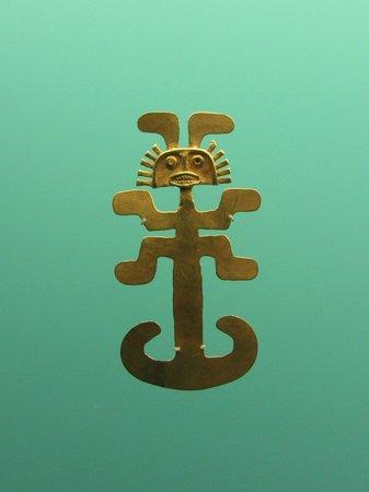 Museo del Oro Zenu : Peça do Museu do Ouro Zenú