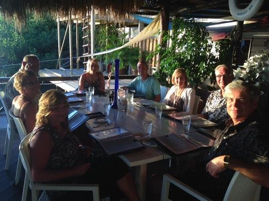 Marandi: Loved our dinner! and the sunset!