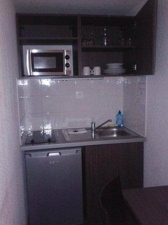Adagio Access Marseille Saint Charles: cucina
