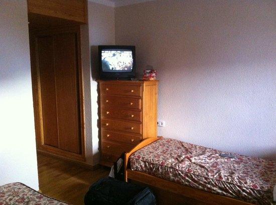 Hotel Nievesol : tv, muchas veces se iva la señal