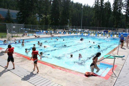 Golden Swimming Pool